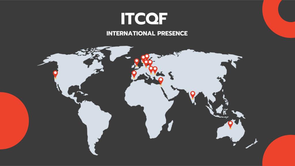 ITCQF international presence map