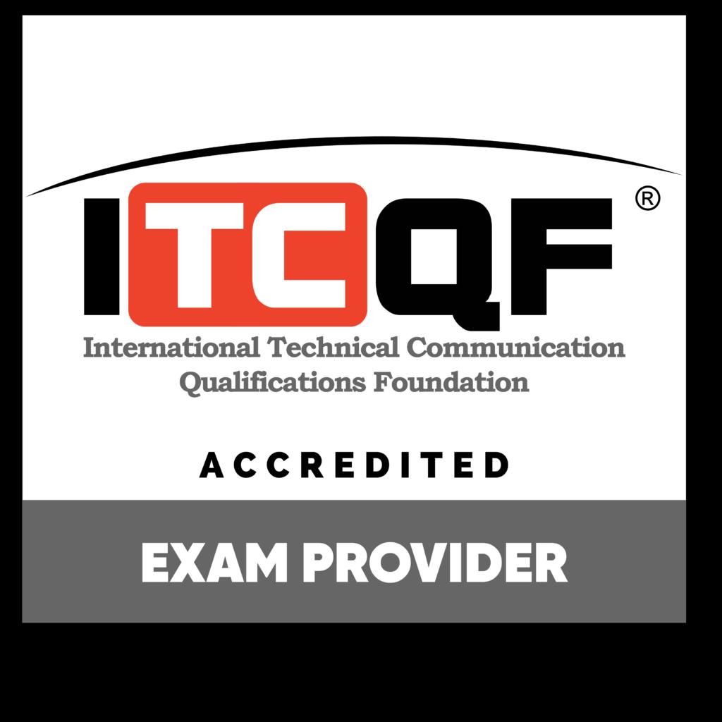 Exam provider badge