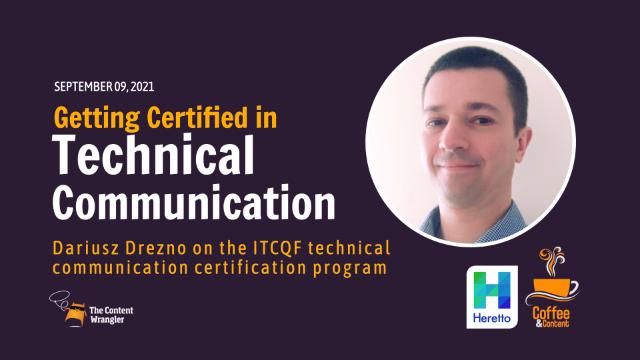 Getting Certified in Technical Communication webinar